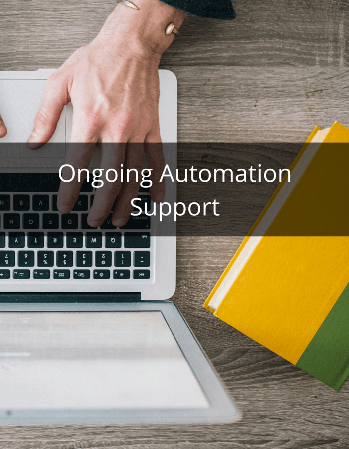 ongoing automation support