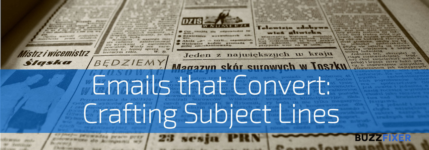 Emails that convert: Crafting Subject Lines