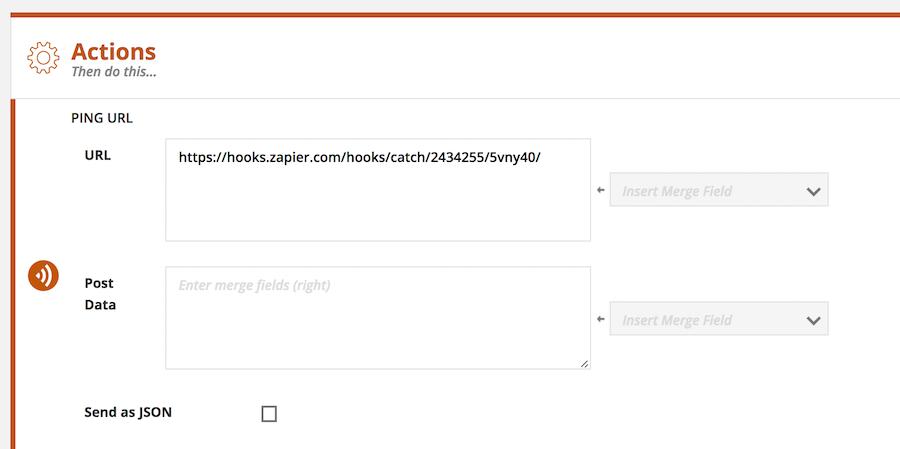 webhook zapier send from ontraport