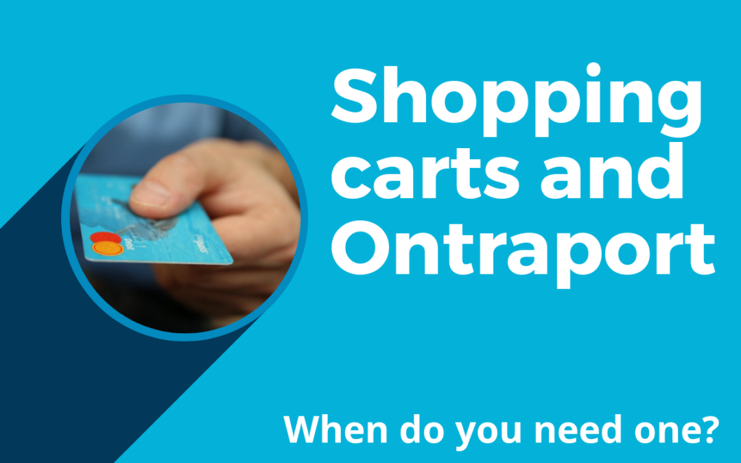 Shopping cart for Ontraport – when and why to use