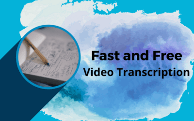 Fast and Free Video Transcription for Content Creators