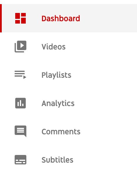 find Subtitles on YouTube Studio